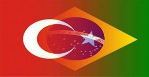 Türkiye-Brezilya maçının en özel kareleri