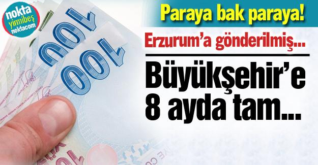 Büyükşehir Belediyesi'ne para yağmuru