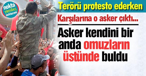 Dadaşlar askeri omuzladı...