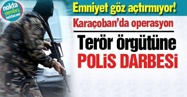 Erzurum'da terör operasyonu!