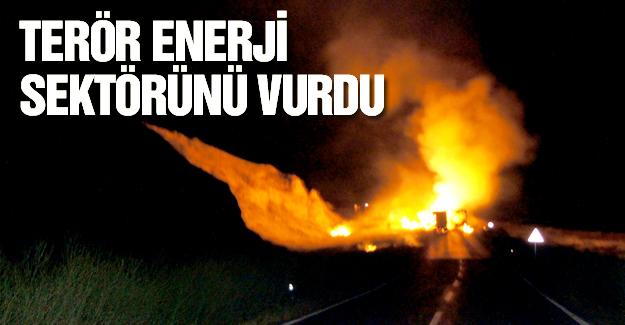 Terör, enerjiyi vurdu!