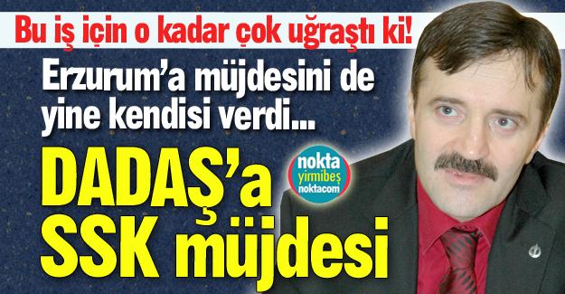 Erzurum'a müjdesini de verdi!