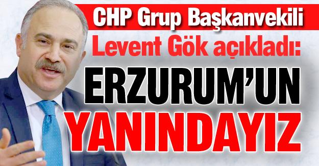 CHP'den Erzurum'a destek!