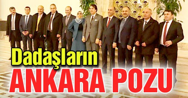 Dadaşların Ankara pozu