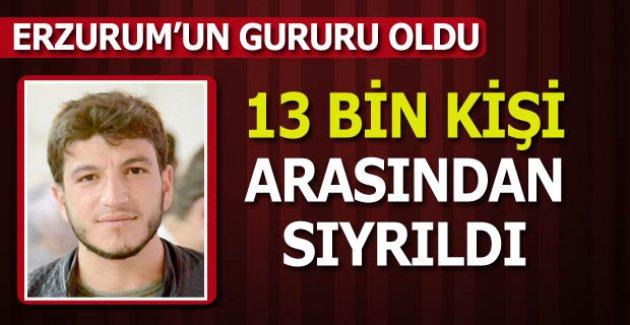 Erzurum'un gurur kaynağı oldu