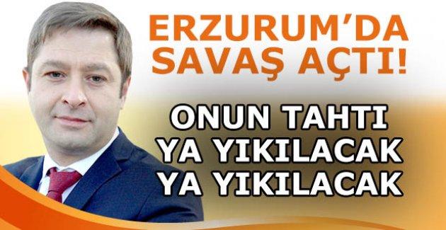Erzurum'da taht savaşı!
