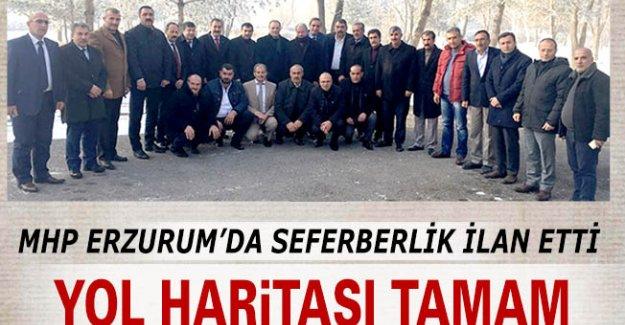 Erzurum MHP'de seferberlik!