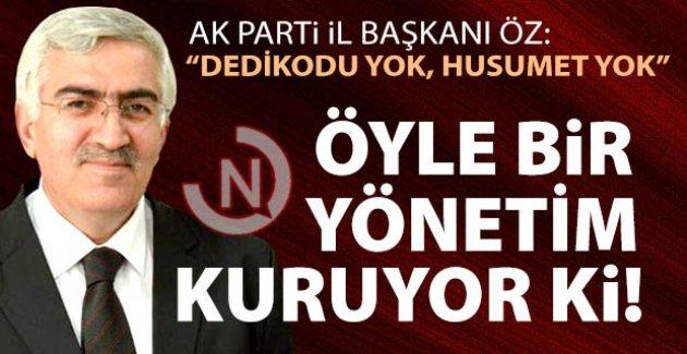 Başkan Öz'le dobra dobra!..