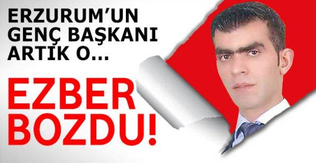 Erzurum'da ezberleri o bozdu
