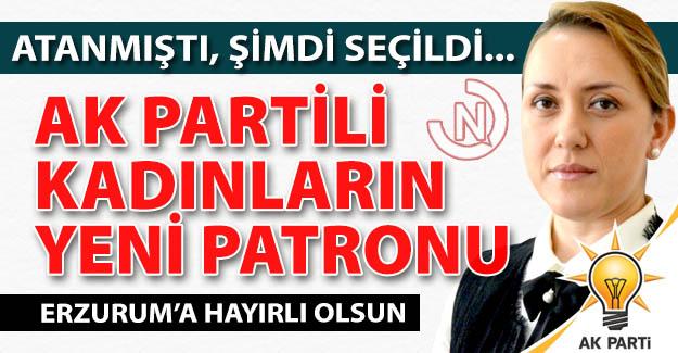 Erzurum'da seçilmiş patron oldu!..