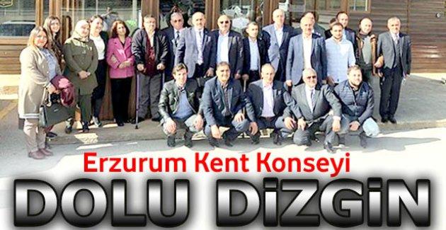Erzurum Kent Konseyi dolu dizgin