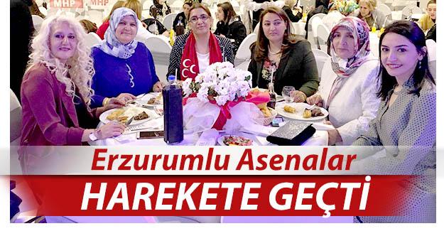 Erzurum'da Asena'lar harekete geçti!..