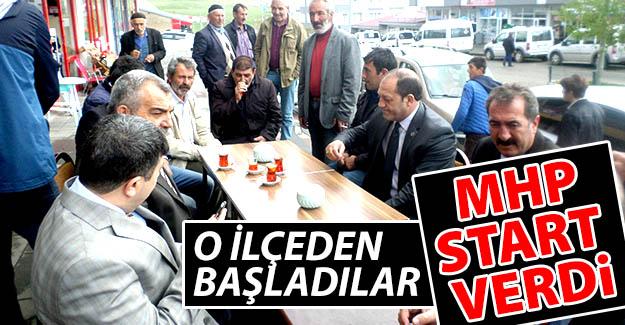 Erzurum MHP hızlı başladı!..