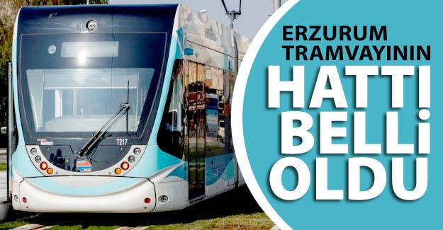 Erzurum tramvayının hattı da tamam!..