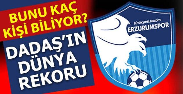 Erzurumspor'un dünya rekoru!..