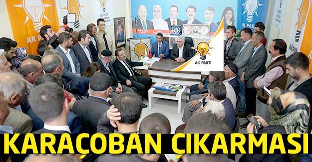 AK Parti'den Karaçoban çıkarması