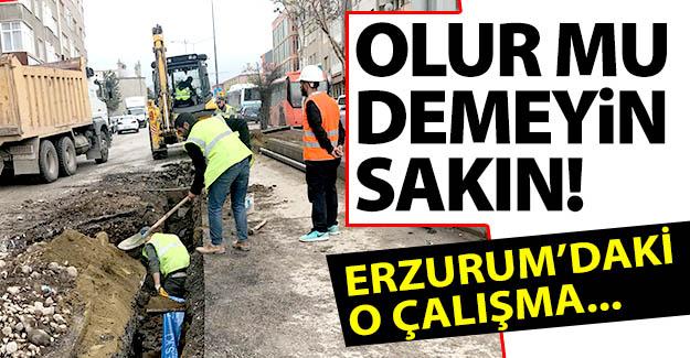 Erzurum'daki o çalışma meğerse...
