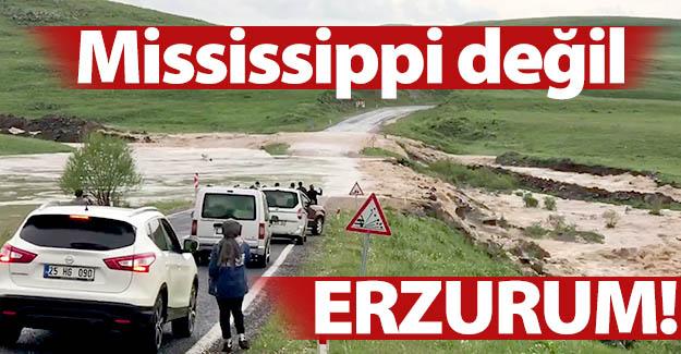 Mississippi değil, Erzurum!..