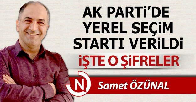 AK Parti'de yerel seçimlerin şifreleri...