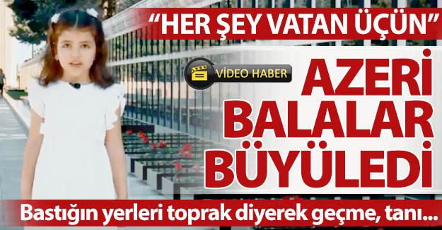 Azeri balalar büyüledi!..