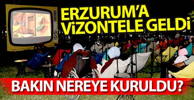 Erzurum'a 'Vizontele' geldi...