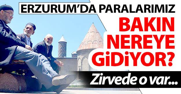 Erzurum'da paralar oraya gidiyor!..