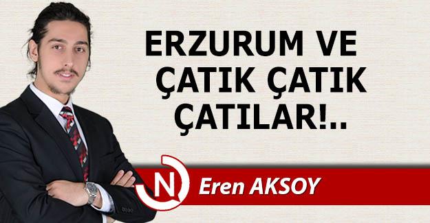 Erzurum ve çatık çatık çatılar!..