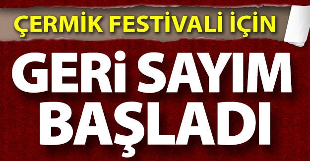 Çermik Festivali için geri sayım...