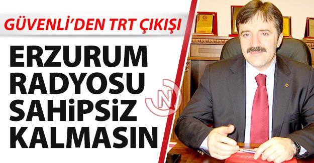 Güvenli'den TRT çıkışı!..