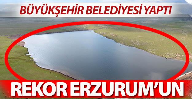 Rekor Erzurum'un oldu!..