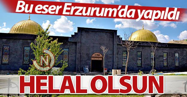 Bu eser Erzurum'da yapıldı...