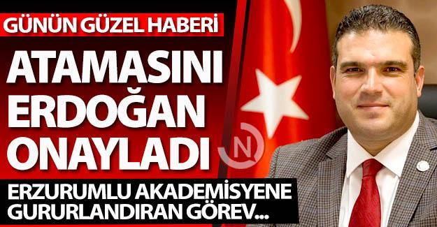 Erzurum'a günün en güzel haberi!..