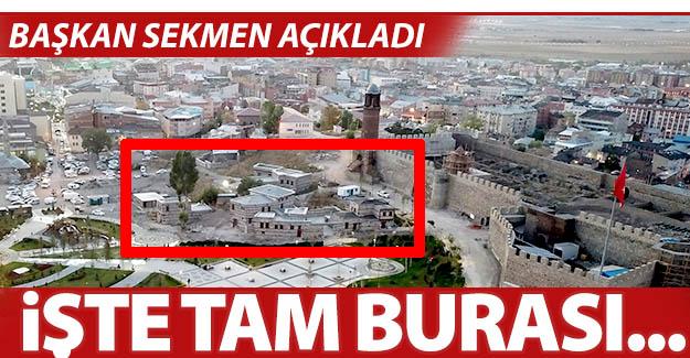 Başkan Mehmet Sekmen açıkladı...