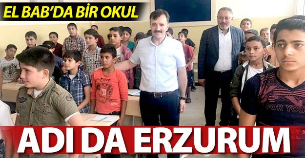 El Bab şehrine Erzurum mührü