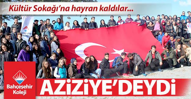 Bahçeşehir Koleji, Aziziye'deydi...
