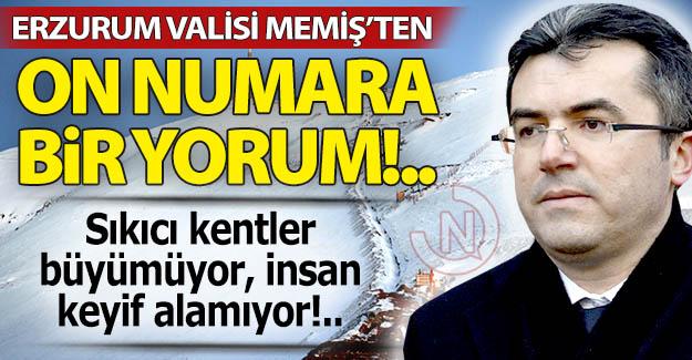 Erzurum Valisi'nden önemli tespit!