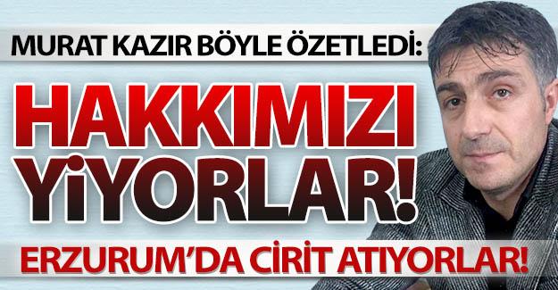 Kim bu Erzurum'daki kural tanımazlar!..