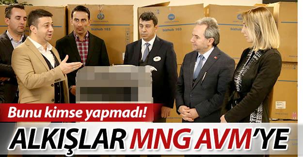 Alkışlar MNG AVM'ye...