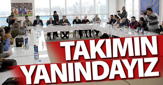 Erzurum'un zirvesinden Erzurumspor mesajı