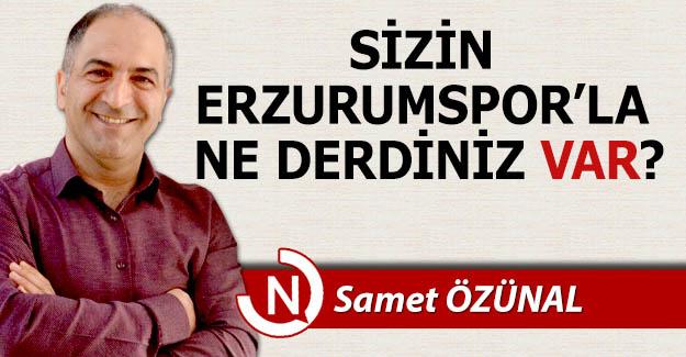 Sizin Erzurumspor'la ne derdiniz VAR?