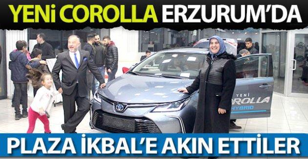 Yeni Corolla Erzurum'da da görücüye çıktı