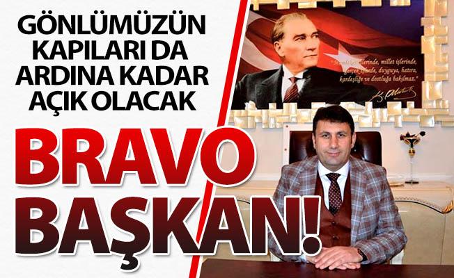 Bravo Melik Başkan!