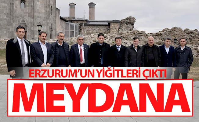 Erzurum'un yiğitleri çıktı meydana!