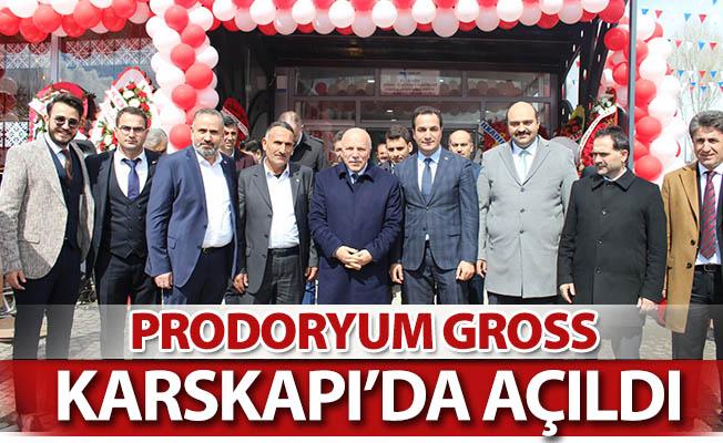Prodoryum Gross Karskapı'da açıldı