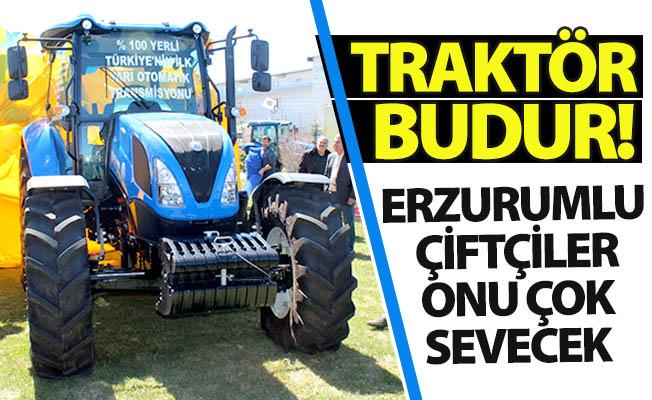 Bu traktörün üstüne yok!