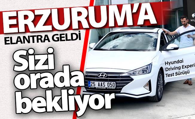 Elantra Erzurum'a geldi!