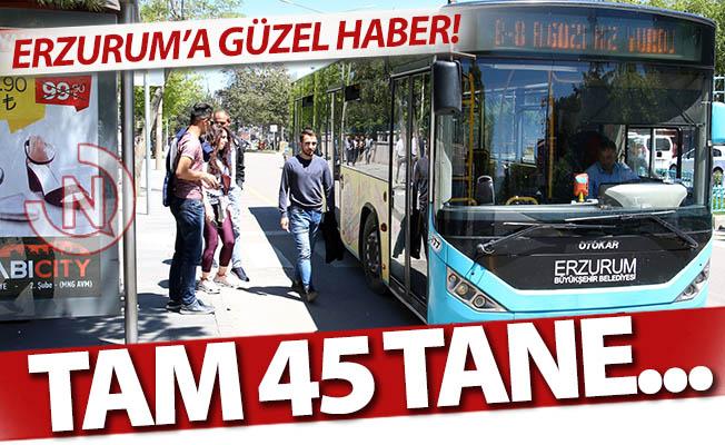 Erzurum'a çok güzel haber!