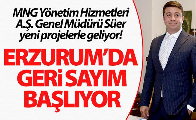 Erzurum'da geri sayım başlıyor!