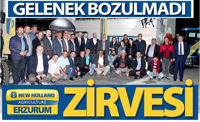 Erzurum'da New Holland zirvesi