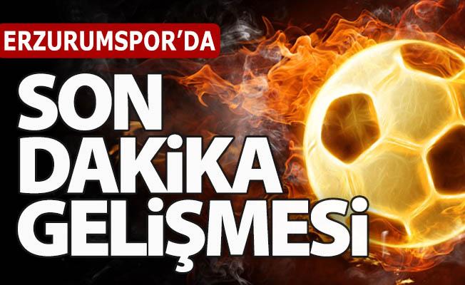 Erzurumspor'dan açıklama!